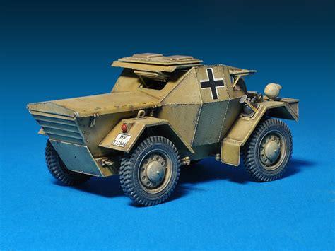 Mini Art Leichter Mk1 (dingo) Armoured Car German Ww2 1/35
