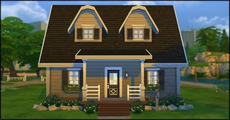 starter homes beatrice s starter home by lemonjelly at starlight diner via sims 4 updates sims 4 home ideas