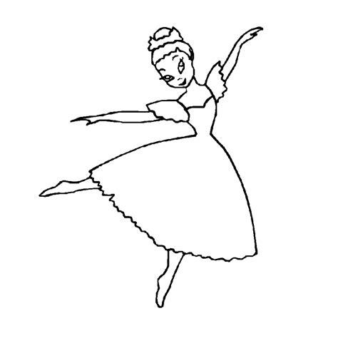 Ballet Kleurplaat by Leuk Voor Ballet Kleurplaten