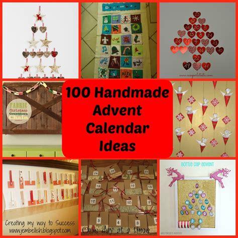 advent calendar ideas creating my way to success 100 ideas for handmade advent calendars