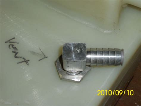Boat Fuel Tank Vent Hose by Source For Fuel Tank Aluminum Vent The Hull