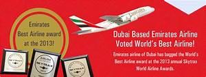 Dubai Based Emirates Airline Voted World's Best Airline