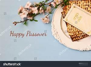 Pesah Celebration Concept Jewish Passover Holiday Stock