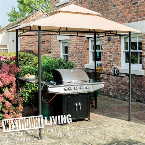 new 8x8ft 8 x 8 8x8 ft outdoor steel bbq gazebo