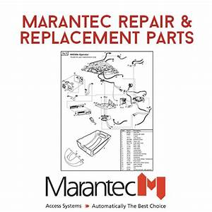 Marantec Residential Garage Door Opener Parts