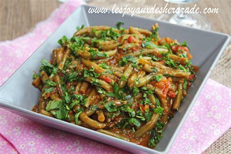 cuisine kabyle haricots verts à l 39 huile d 39 olive les joyaux de sherazade