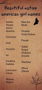 Beautiful, unusual native american girl names for writing ...