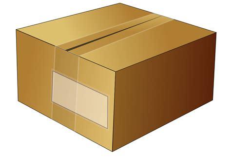 onlinelabels clip art simple cardboard box