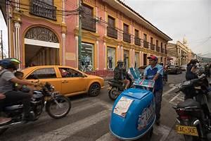 Busy Urban Town