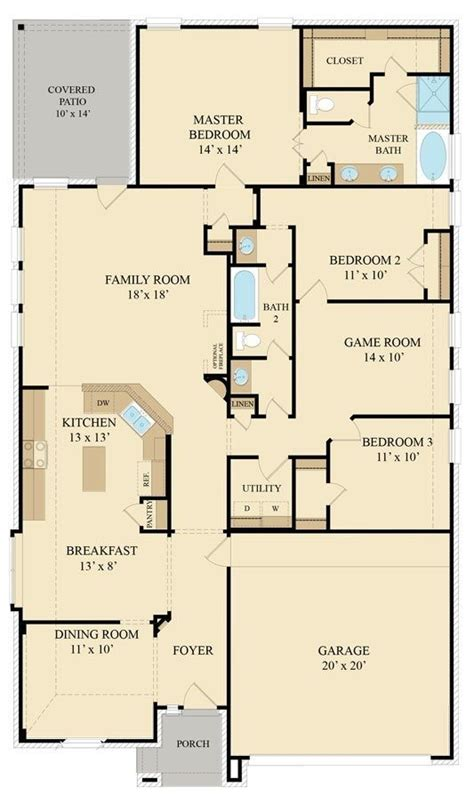 New Home Layouts by Inspirational Lennar Homes Floor Plans New Home Plans Design