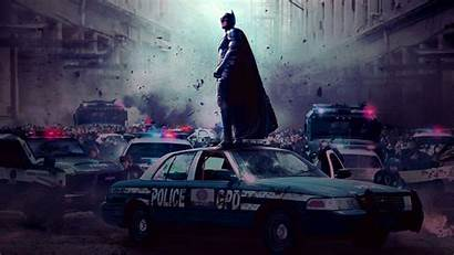 Police Batman Dark Knight Wallpapers Rises Bats