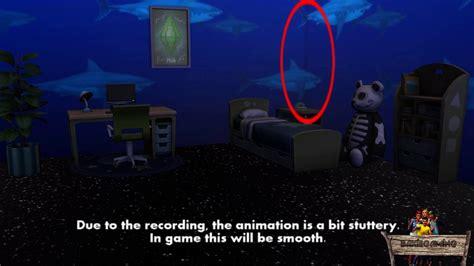 Shark Animated Wallpaper - bakies the sims 4 custom content animated wallpaper