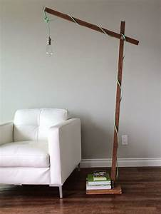 ana white build a modern wood floor lamp from a 1x2 With free wood floor lamp plans