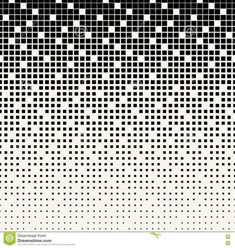 Abstract Geometric Black And White Gradient Square