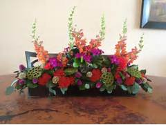 Dining Room Table Centerpiece Arrangements Dining Room Table Centerpiece Flower Arrangement Pinterest