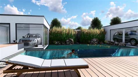 Luxusvilla Mit Pool by Luxusvilla Mit Pool Fotorealistische Animation Und