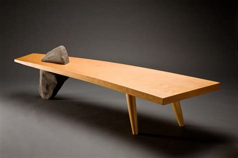 using a bench as a coffee table gibralter bench wood bench coffee table seth rolland