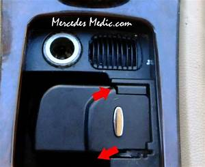 Remove Cup Holder From W203 C