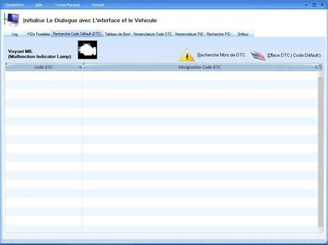 logiciel pour effacer voyant airbag diagnostic par obd logiciel garage