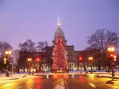 Michigan Winter Senate State Capitol Spring Webmaster