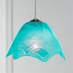 Pendant lighting ideas blue mini teal light