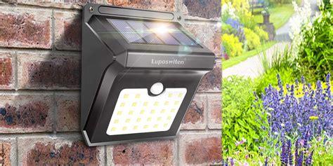 Lemontec 62 Led Wall Solar Light Outdoor Security Lighting