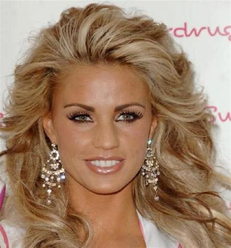 light brown with blonde highlights katie price 39 s blonde hairstyle with chunky light brown