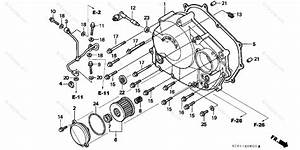 Honda Motorcycle 1999 Oem Parts Diagram For Right