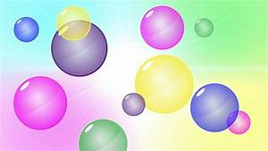 Image Gallery moving bubbles background