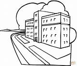 Hospital Coloring Krankenhaus Ausmalbilder Colorare Colorear Ziekenhuis Ospedale Ausmalbild Kleurplaat Disegno Dibujos Disegni Dibujo Super Bambini Topkleurplaat Kleurplaten Imagui Pupung sketch template