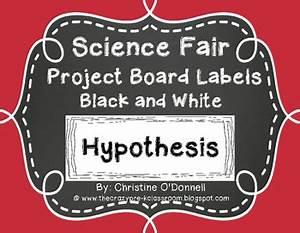 science fair board headings science fair project board headings black white labels