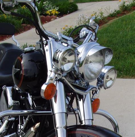 Harley Davidson Light Bar by Passing Lights On A Fatboy Harley Davidson Forums