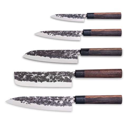 set de couteau de cuisine set 5 couteaux osaka 3 claveles design japonais
