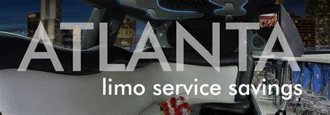Discount Limo Service by Atlanta Limo Specials Atlanta Limousine Rental Deals