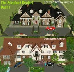 sim mansion photo gallery mod the sims the stepford project i 2 mansions by d d i