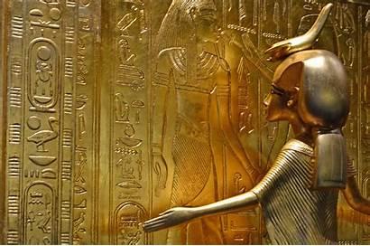 Egypt Gold Egyptian Pharaoh Exploration Round Scorpion