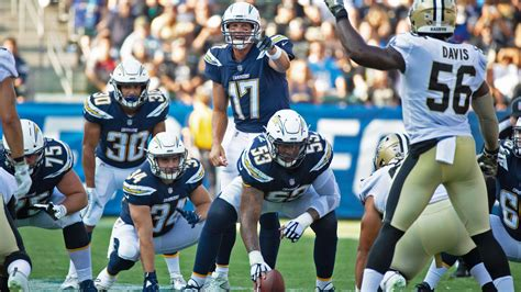 chargers  preseason schedule announced