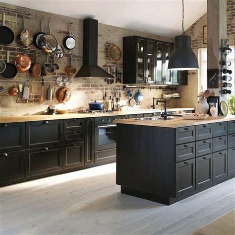 cuisine ikea duktig best 25 black kitchen cabinets ideas on gold
