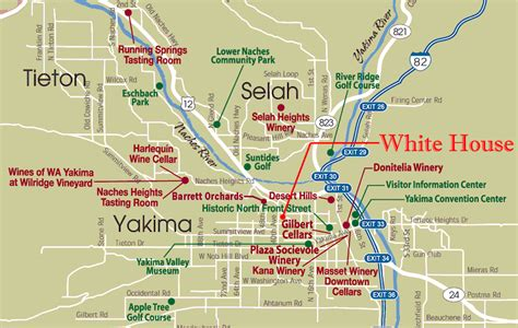 white house yakima attractions house plans