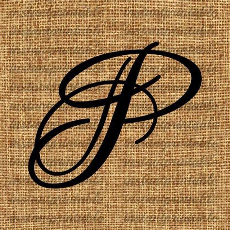 monogram initial letter p letter clip art  instantprintable letter p tattoo hand lettering