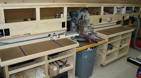 miter  bench  moveable fence
