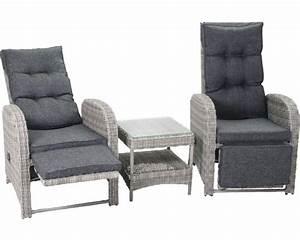 Polyrattan 2 Sitzer : balkonset manchester polyrattan 2 sitzer 3 teilig grau bei hornbach kaufen ~ Whattoseeinmadrid.com Haus und Dekorationen
