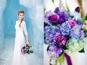 Disney's Frozen Inspired Wedding Shoot midway ice castles ...