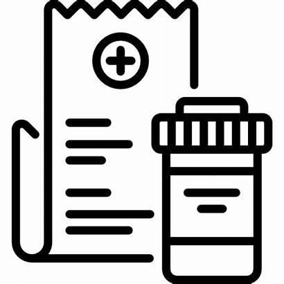 Prescription Drug Icon Rehab Icons Center Svg