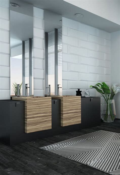 ideas  modern bathroom decor  pinterest