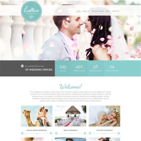 Wedding Website Templates 33 Best Wedding Website Templates
