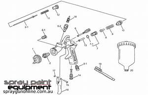 Anest Iwata Lph400lv Parts