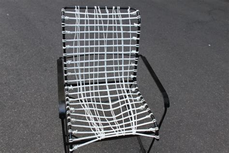 patio furniture makeover vinyl chair to hammock chair