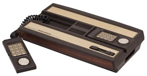 Mattel Console by History Of Consoles Mattel Intellivision 1980 Gamester 81