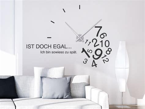 Designer Uhren Wand by Uhr Wandtattoo Wanduhren Mit Wandtattoos Designer Uhren